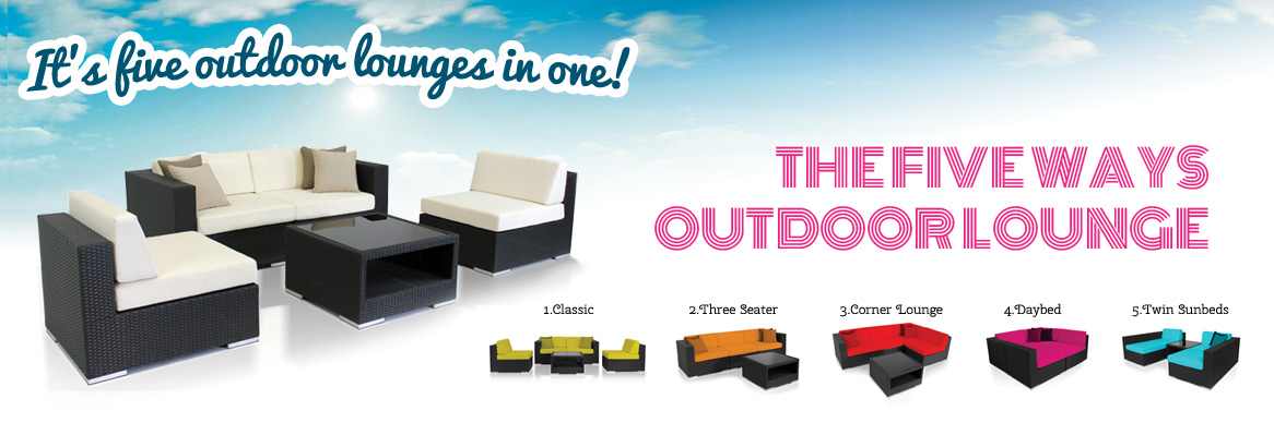 Five Ways Outdoor Lounge