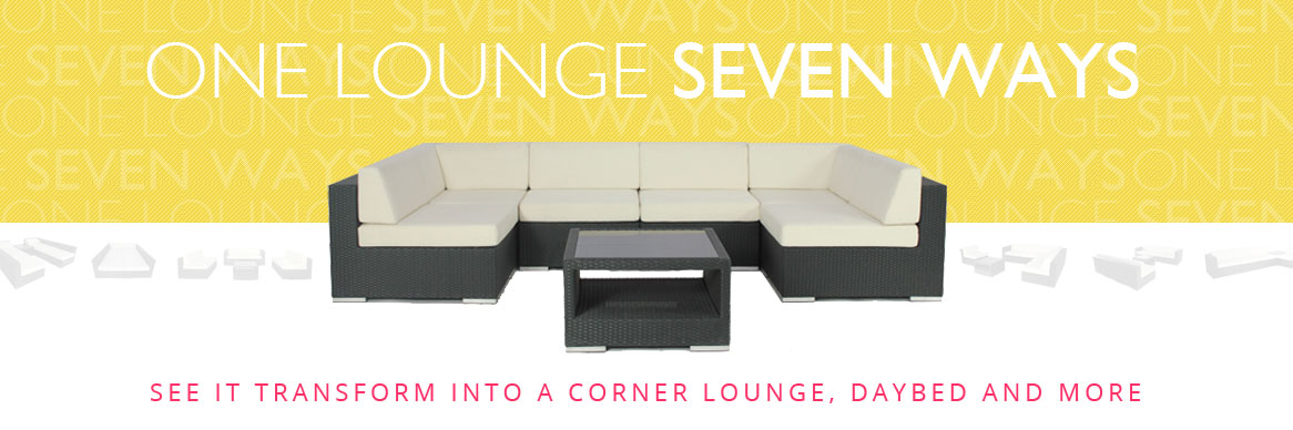 Seven Ways Outdoor Lounge